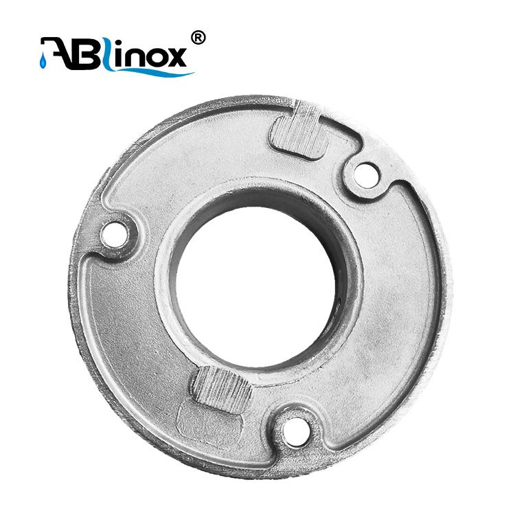 Настенный фланец для трубы ABLinox C123, круглый фланец для поручня, базовая пластина для трубы 42,4 мм