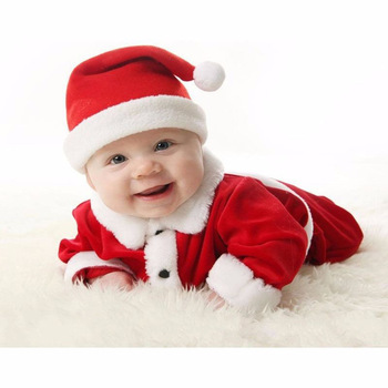 Best Selling Items Baby Christmas Romper Boutique Outfit Rompers Winter Christmas Moose Girl Baby Romper