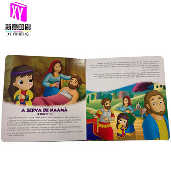 Print on demand wholesale Kid Children Study Bible Story Books Bible Printing