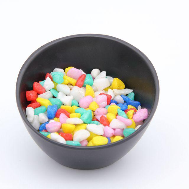 Цветной гравий/Цветная Галька/Искусственная галька для аквариума