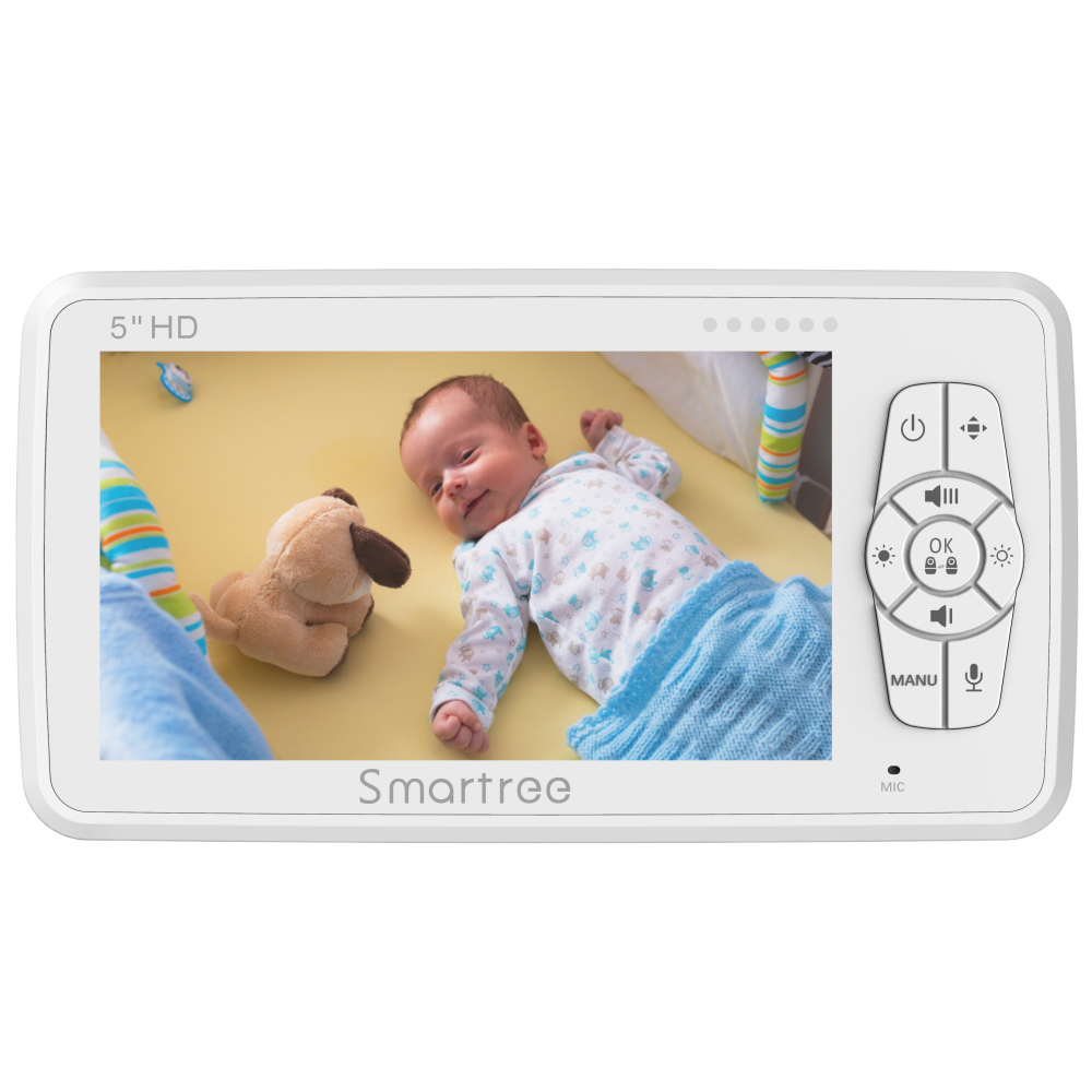 Digital high quality display smart child car monitoring video all in one baby monitor