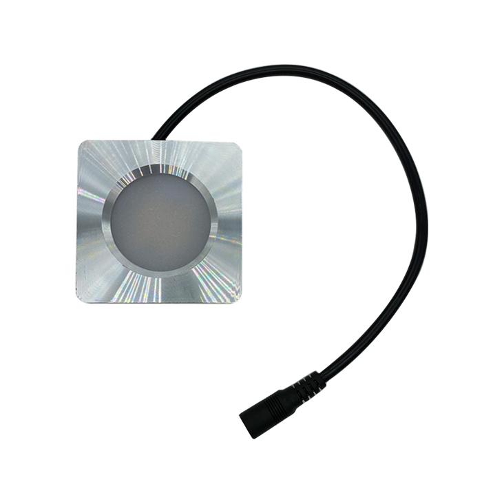 10-30V UltraThin Puck LED Light 5.5mm Plug Wire Dome Light 12V 24V Super Thin 14mm Down Lamp Ceiling Light