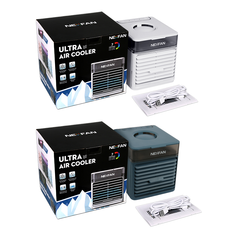 2021 NexFan Ultra Portable World's Best mini Air Cooler with Powerful Cooling and High Energy Efficienc