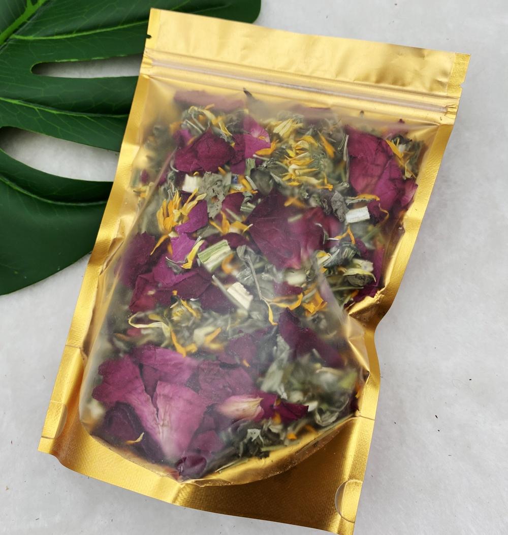 OEM частная торговая марка, оптовая продажа, вагинальная очистка розмарина, паровые травы Yoni для женского здоровья