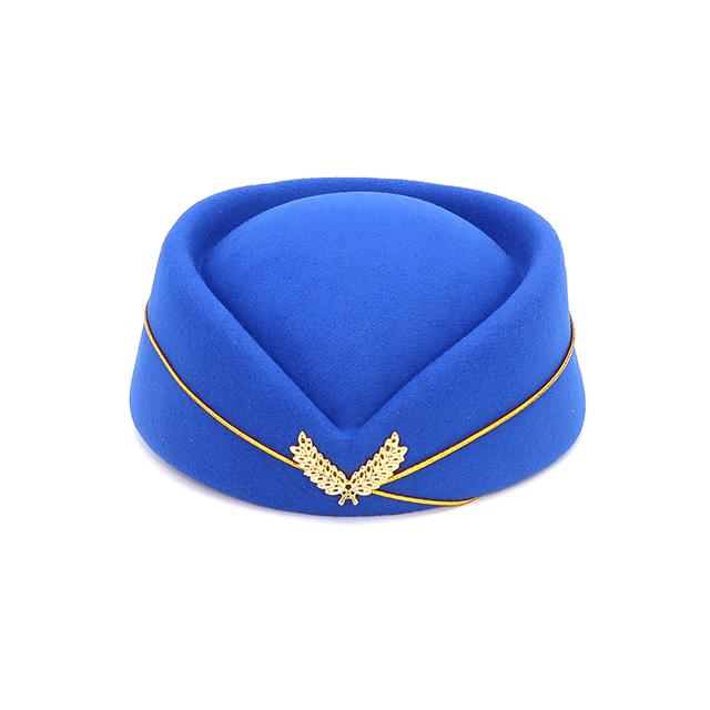Female air hostess uniform hat clothing uniform stewardess hat