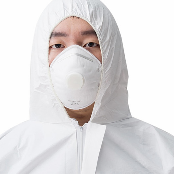 MOQ 100PCS pp disposable non woven coverall blue breathable coveralls