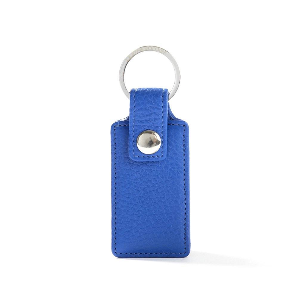 Factory custom logo PU leather keychain
