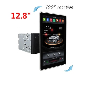 Klyde KD-1280 180 degree rotation Tesla style universal model with android 9.0 system PX6 Car multimedia system