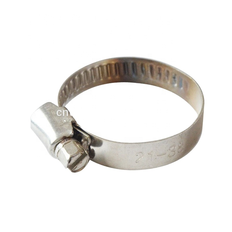 44mm Fuel Long Reach Stainless Steel Belt Buckles America hose clamp with stainless steel for rubber hose