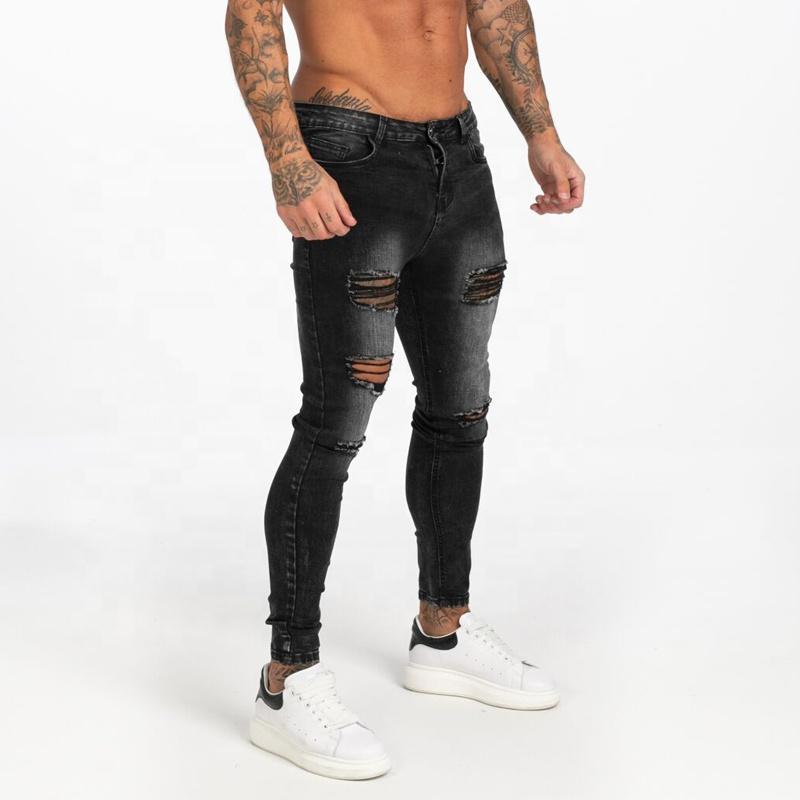 Celana Jins Robek Pensil Pria Jeans Pantalon Homme Super Fly Jens Untuk Pria Mode Tinggi 2020 Buy Dropship Celana Jeans Mens Nama Merek Jeans Pent Tertekan Skinny Jeans Product On Alibaba Com