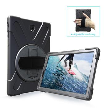 "Shockproof Rugged Hand Held Back Cover Case For Samsung Galaxy Tab S4 T830 10.5"" tablet cover"