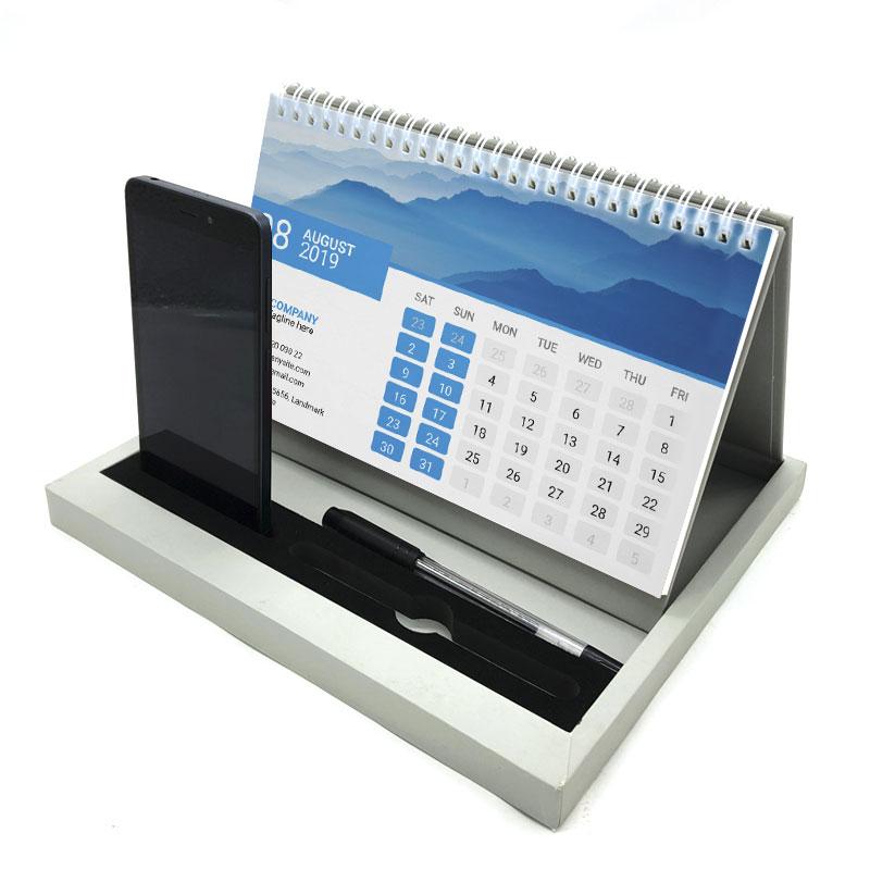 2022 Desktop Calendar.Custom Print Spiral Table Desktop Desk 2021 2022 Notepad Calendar With Phone And Pen Holder Buy Print Calendar 2020 Calendar Desktop Calendar Product On Alibaba Com