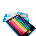 School Color Drawing Pencils Set Customized School Supplies Stationery Drawing Triangle Color Pencils Set