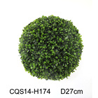 Garden It Can Be Customized Garden Decoration Project Artificial Ball Ornamental Grass Bulb Plants