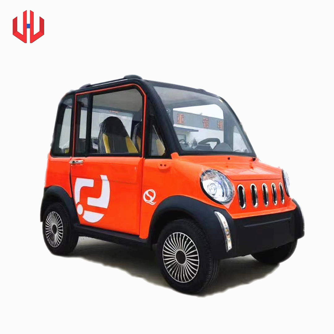 1200w battery air conditioning four wheels four seats disc brake electric car for sale