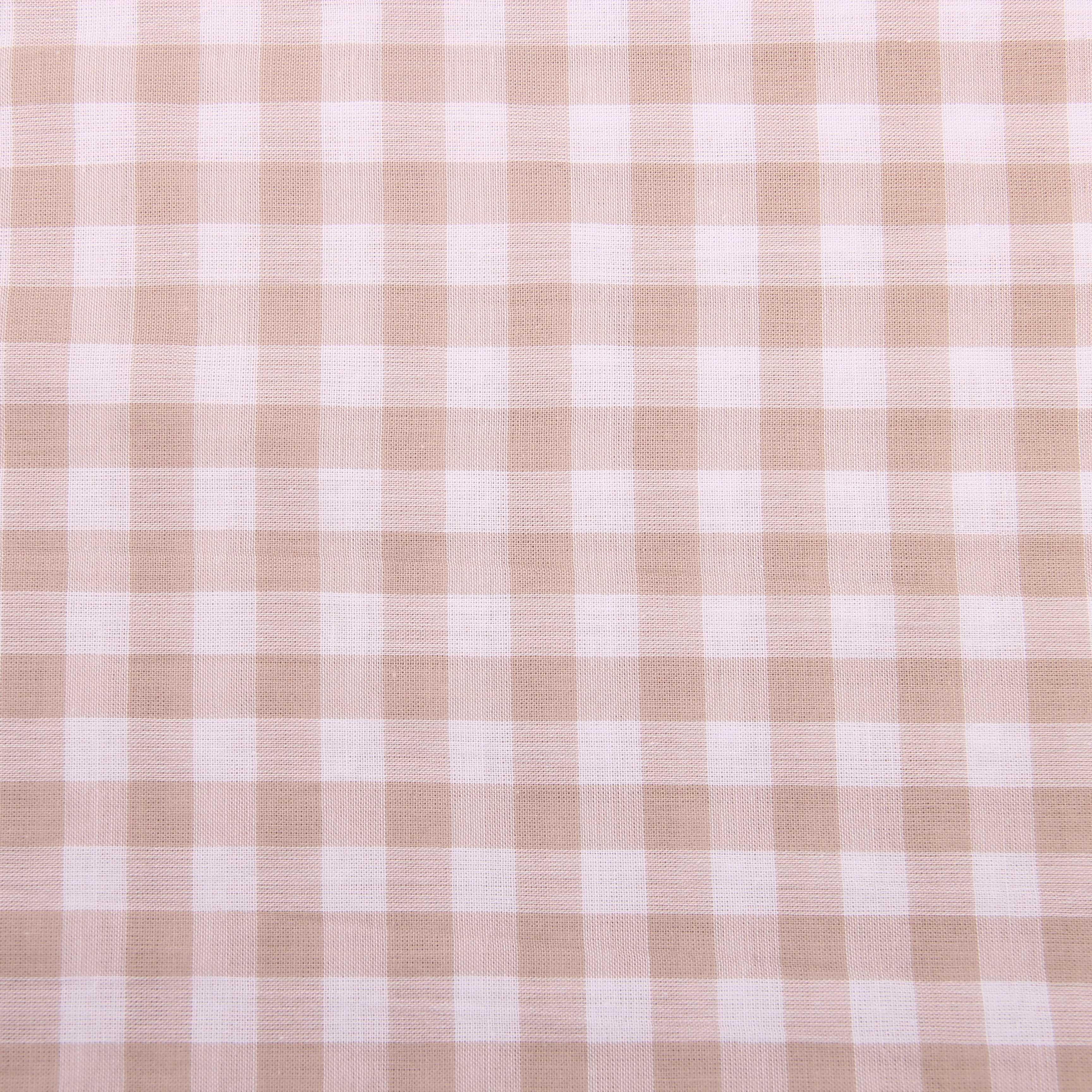 Пряжа окрашенная тканая клетчатая четырехсторонняя тянущаяся хлопчатобумажная ткань спандекс Япония и Южная Корея трендовая Мода Классическая Чаоян клетка