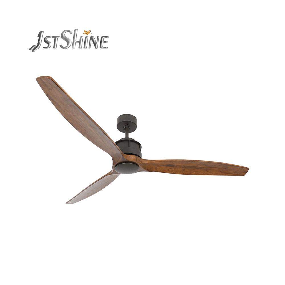 1stshine новый дизайн, деревянный потолочный вентилятор, энергосберегающий потолочный Чердачный вентилятор