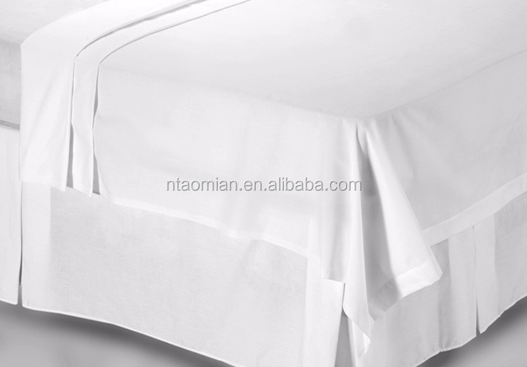 Factory wholesale fabric 65% cotton 35% polyester fabric for making hotel sheets