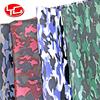 Camuflagem tecido de couro