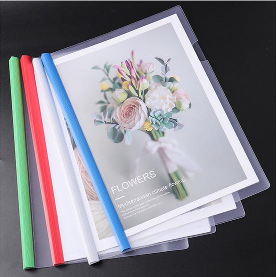 Пластиковый прозрачный чехол-книжка из ПВХ A4/A5