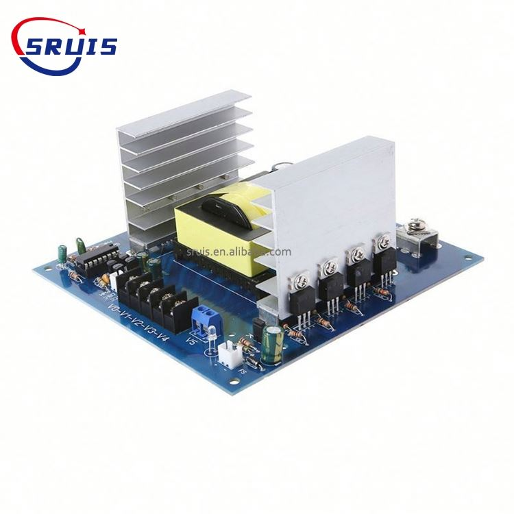 1000W DC12V/24V Inverter Module High Frequency Module Board Current Boost Step-up Car Converter DC-AC