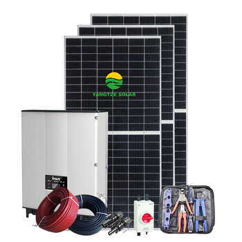 Yangtze 2021 new year free shipping energy solar system on grid solar system 15kw