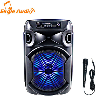 2021 New Private Good Quality Karaoke Portable 8 Inch Battery Speaker