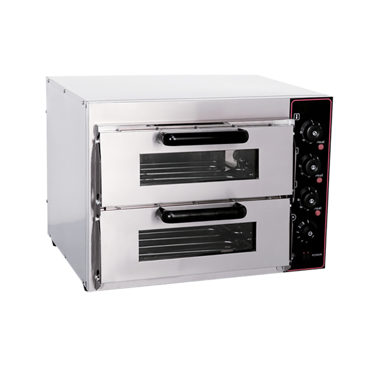 Double layer electric pizza oven Commerical Electric kitchen Equipment Barbecue Steak Grill Electric Salamander