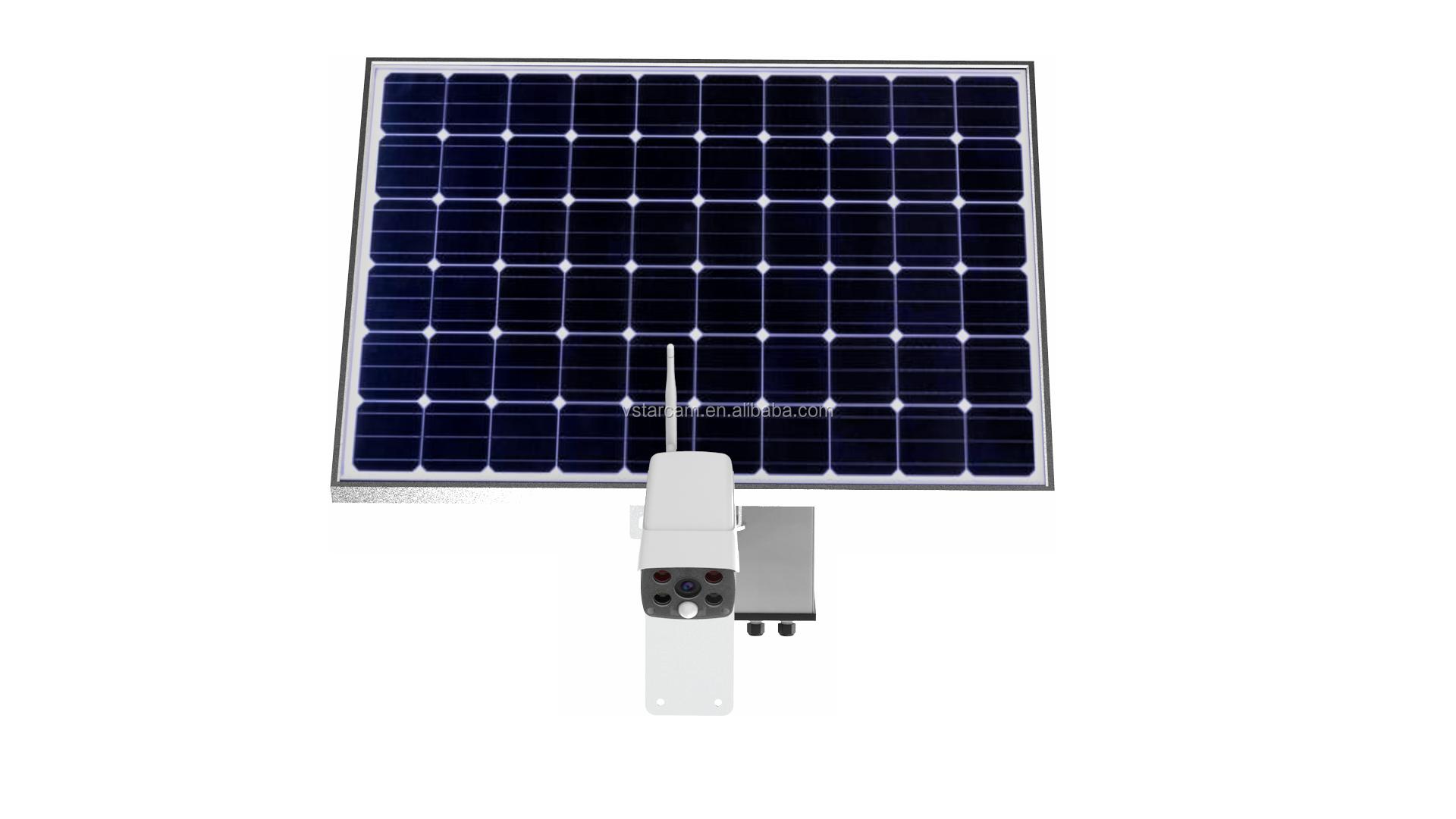 VStarcam 4G Sim-карта ночного видения беспроводная камера видеонаблюдения наружная WIFI Солнечная Ip-камера