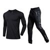 black shirt with black pants