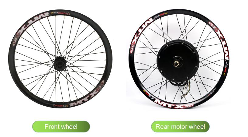 2021 г., одобренные CE комплекты для электрического велосипеда, 52 в, 2000 Вт, комплекты для преобразования электрического велосипеда