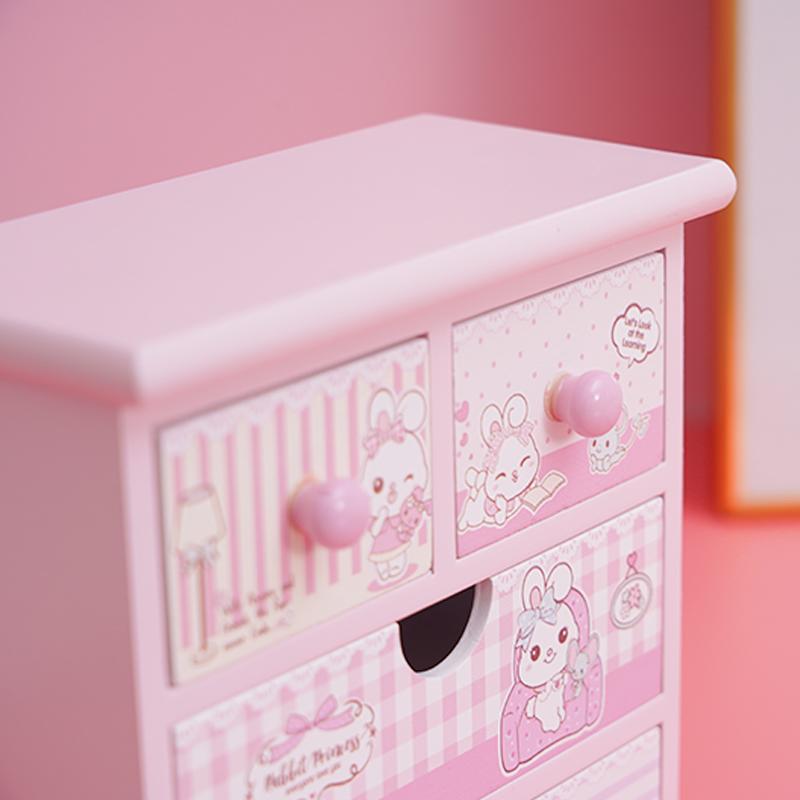 High Grade Small 4 Drawer Jewelry Organizer Gift Box