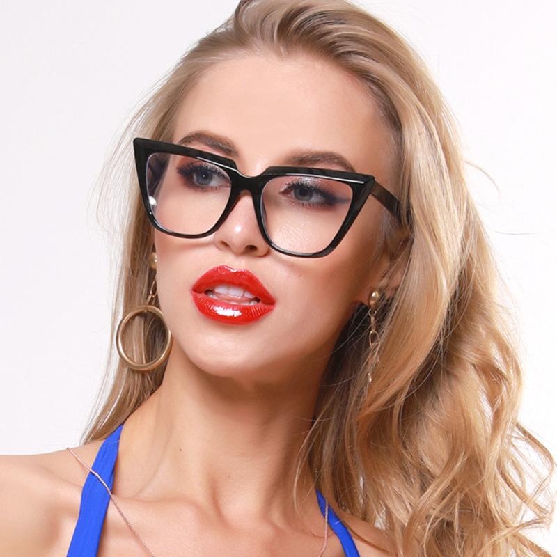 패션 광학 안경 프레임 컴퓨터 푸른 빛 필터 게임 안경 대형 안티 블루 라이트 차단 안경