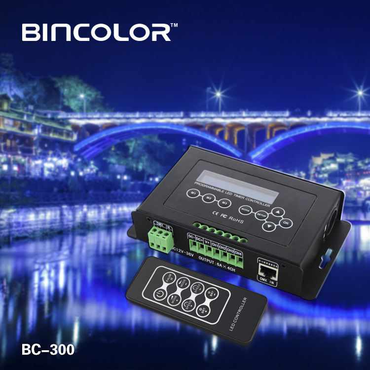 BC-300 hot sale  DIY RGBW LED controller with timer LED controller
