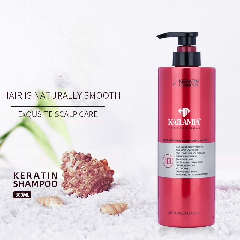 OEM ODM завод прямой коллаген ремонт волос кератин Уход за волосами питательные аминокислоты шампунь для волос