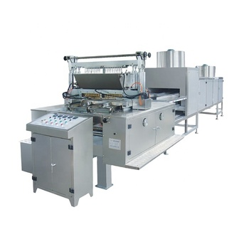 Automatic jelly candy production line candy pouring machine with various specifications