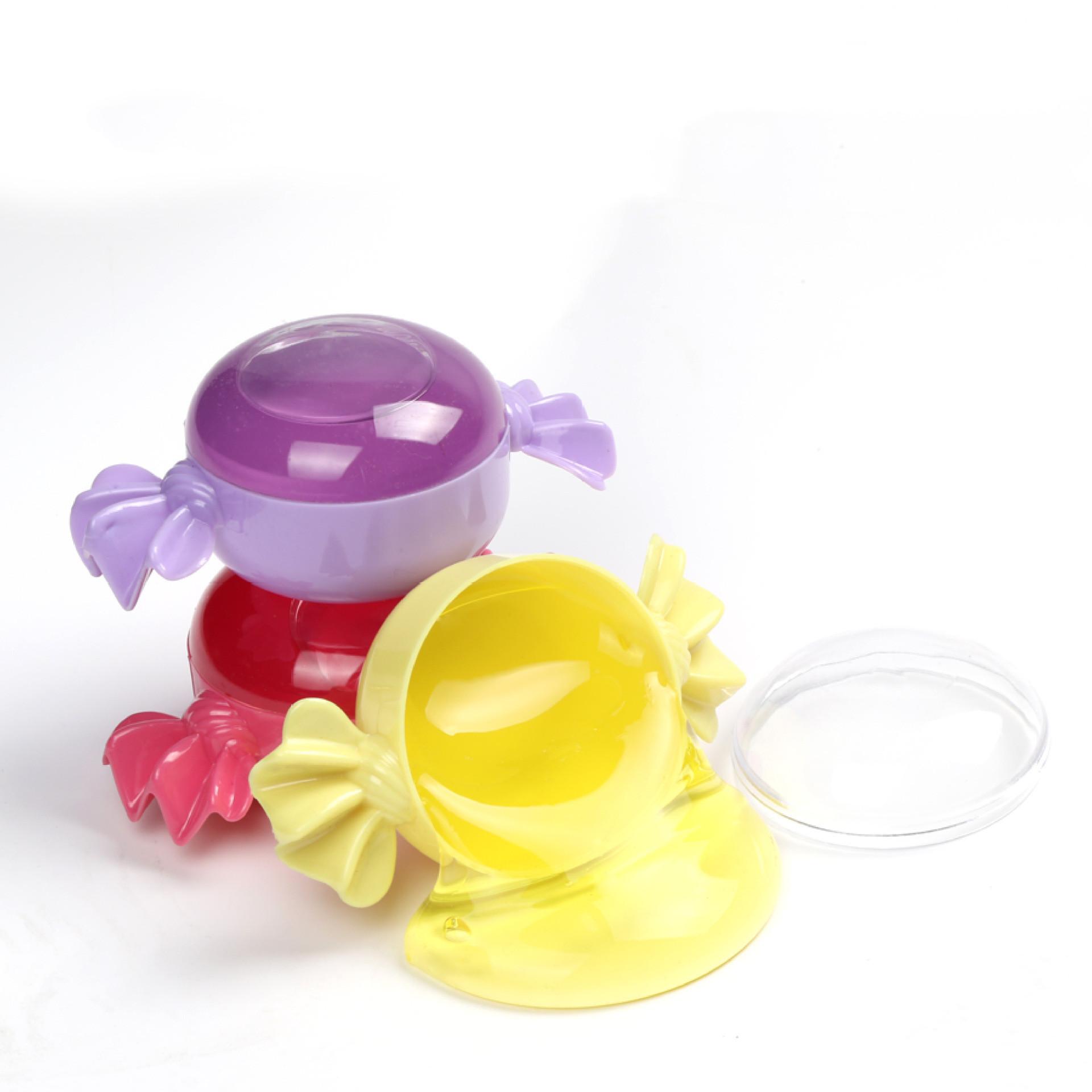 Популярные детские игрушки, красочные конфеты могут выдувать пузырьки, прозрачная кристаллическая цветная грязь, не липкая рука