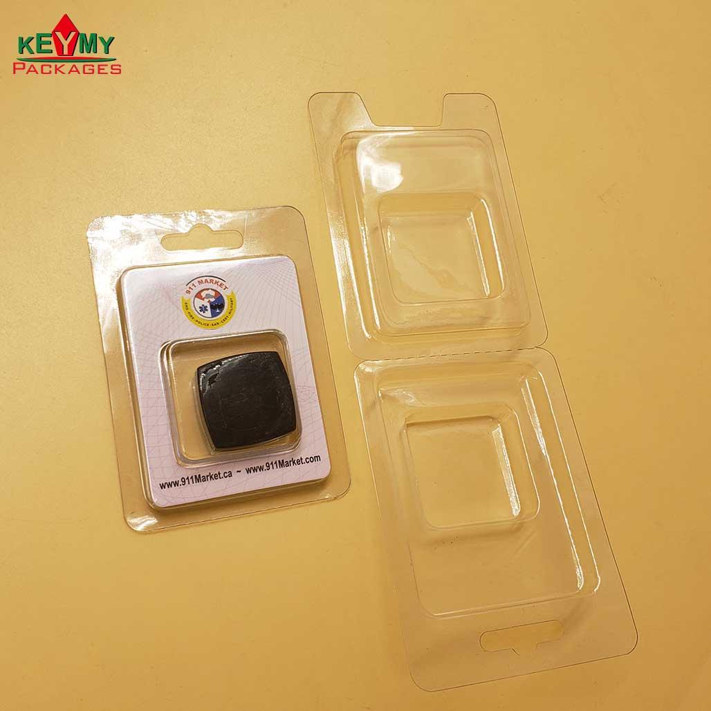 ПЭТ/ПВХ пластиковый раскладушка с блистерной картой для электронных продуктов из Шэньчжэня