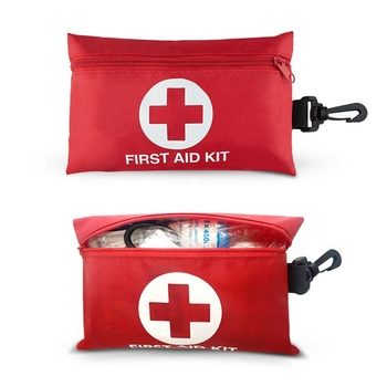 Custom Multifunctional Home Emergency Medical First Aid Kit Bag Portable Outdoor Waterproof Survival First Aid Kit With Supplies