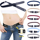 Belt Buckle-free Elastic Invisible Belt Stretching Belt For Women No Buckle Stretch Elastic Waist Belt