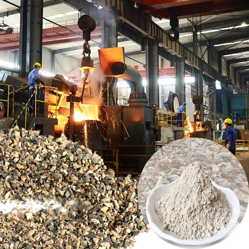 Factory Price 80% Alumina Content 5-8 Mm Grain Size Bauxite Sand For Refractory