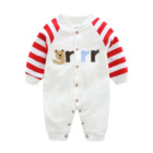 Old Romper Baby Clothes Spring And Autumn Baby One-piece Long-sleeved Newborn Clothes 0-1 Year Old Cotton Long-sleeved Romper Romper