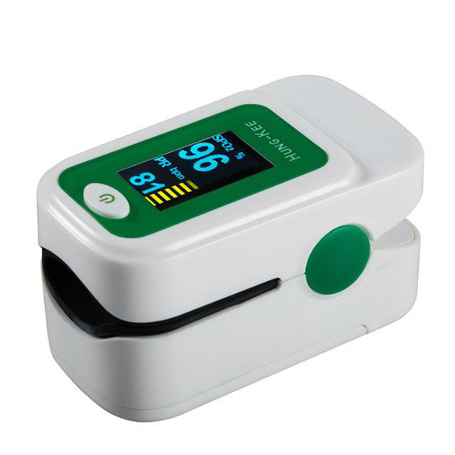 Пульсометр spo2, прибор для измерения уровня кислорода в крови, несколько цветов