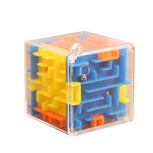 Продажа 3,8 см дети 3D Интеллект лабиринт головоломка игрушка рука-глаз координацию баланс игра Коробка детские развивающие игрушки для дете...(Китай)