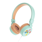 Wired Foldable Over The Ear Stereo with In-Line Microphone Mobile Phone light weight Cool Design Foldable kids headset