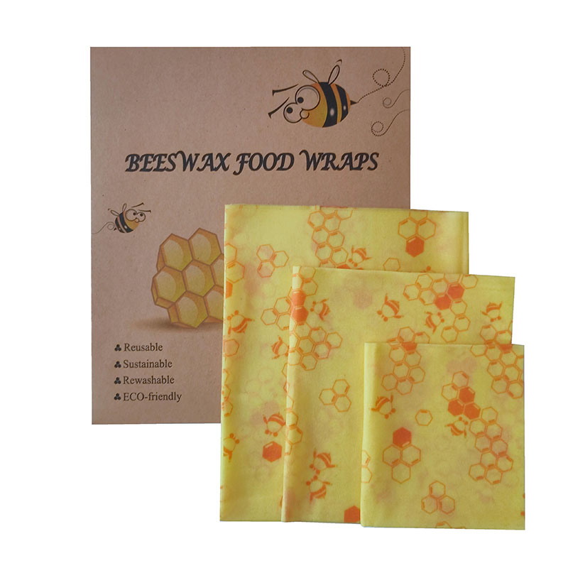 Лидер продаж, Нетоксичная оберточная бумага для еды из натурального органического хлопка с медом, пищевая оберточная бумага для пчелиного воска