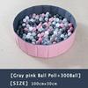 08-Gray Pink Ball Pool+300 Ball