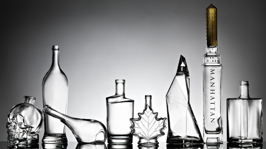 Bouchon en bouteille de Champagne, grand format, vide, brun, vert foncé, 1 pièce