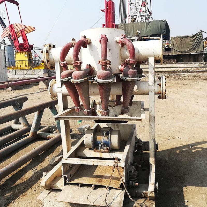 Haiwang Desander Engineers Available to Service Machinery Overseas Brand FX Series Slurry Mud Separation Hydrocyclone Demander