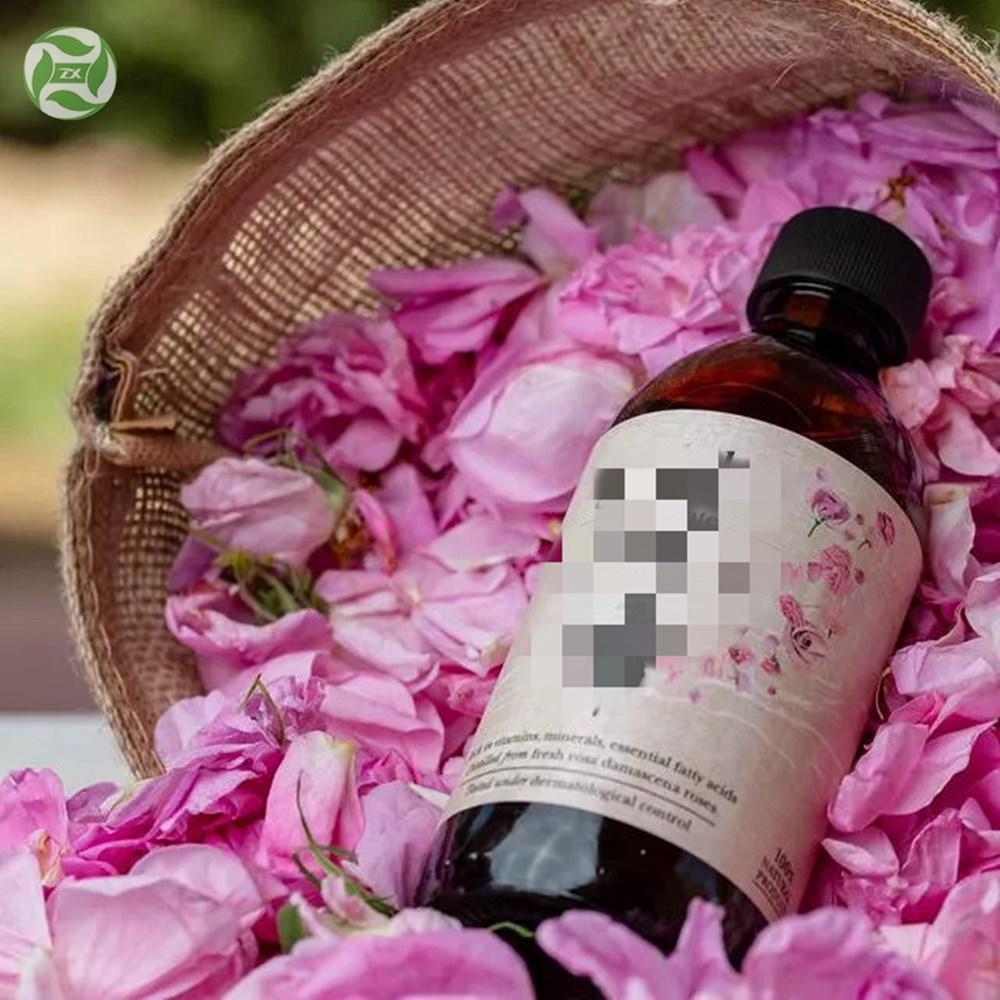 Vegan Rosa Damascena Hydrosol Damask Rose Flower Water Hydrolate With no Additive in Bulk Price New